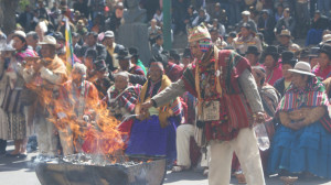 """Crédito: """"Gentileza del Ministerio de Culturas del Estado Plurinacional de Bolivia"""""""