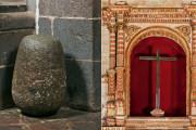 El Hatun Taqe Wiraqocha y la Cruz de la Conquista